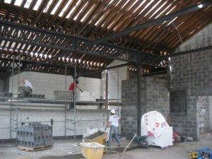 Elévation du deuxième niveau. dans Gros-oeuvre loft-22072010-002-r-300x225