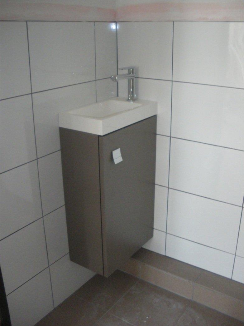 Meuble wc suspendu attractive lave main avec meuble wc - Fabriquer meuble wc ...