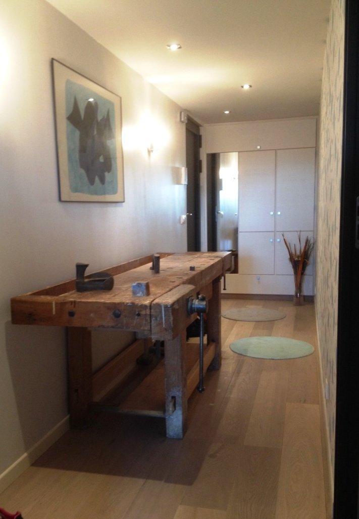 Un ch 39 ti loft id al travaux for Modification salle de bain